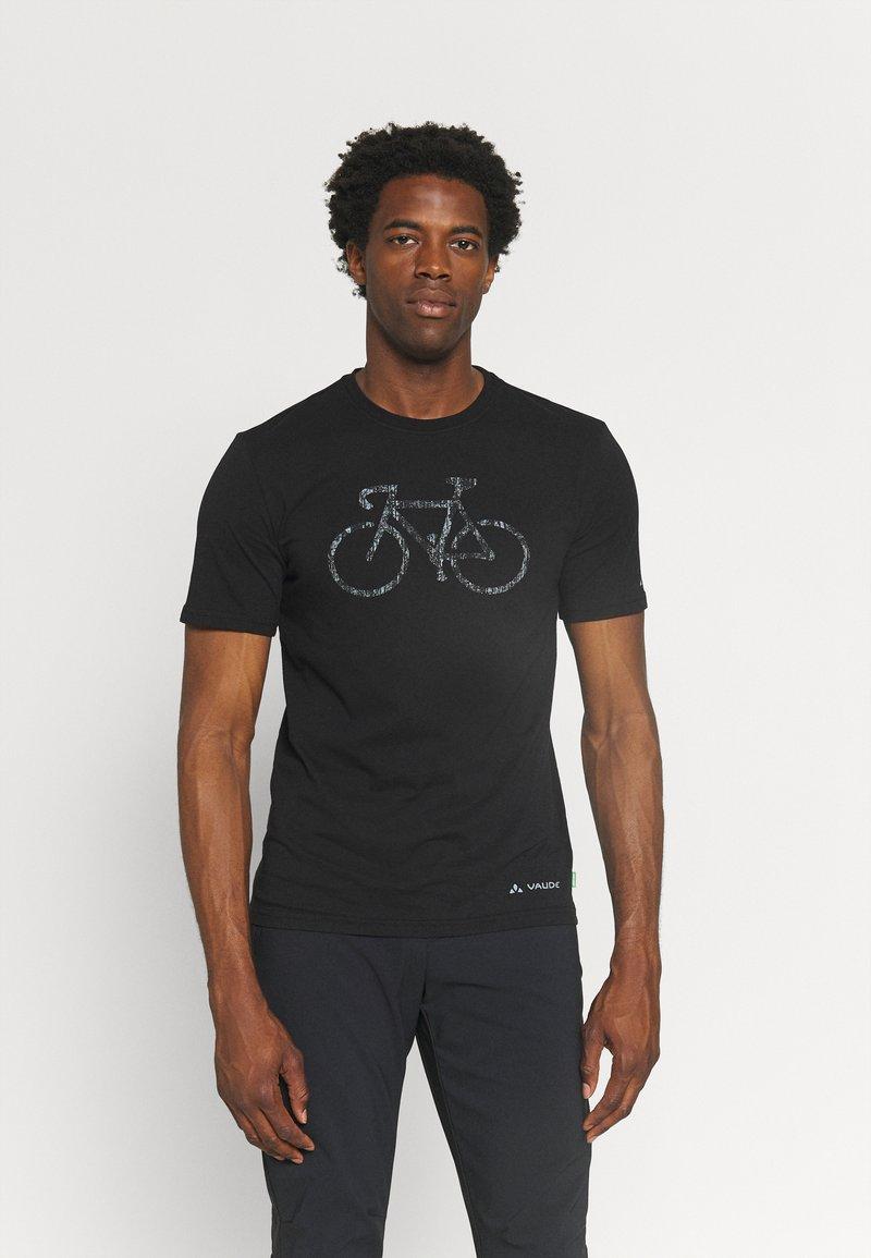 Vaude - ME CYCLIST  - T-Shirt print - black