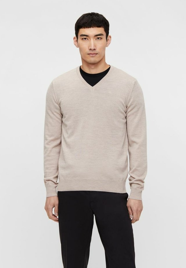 LYMANN - Pullover - sand beige