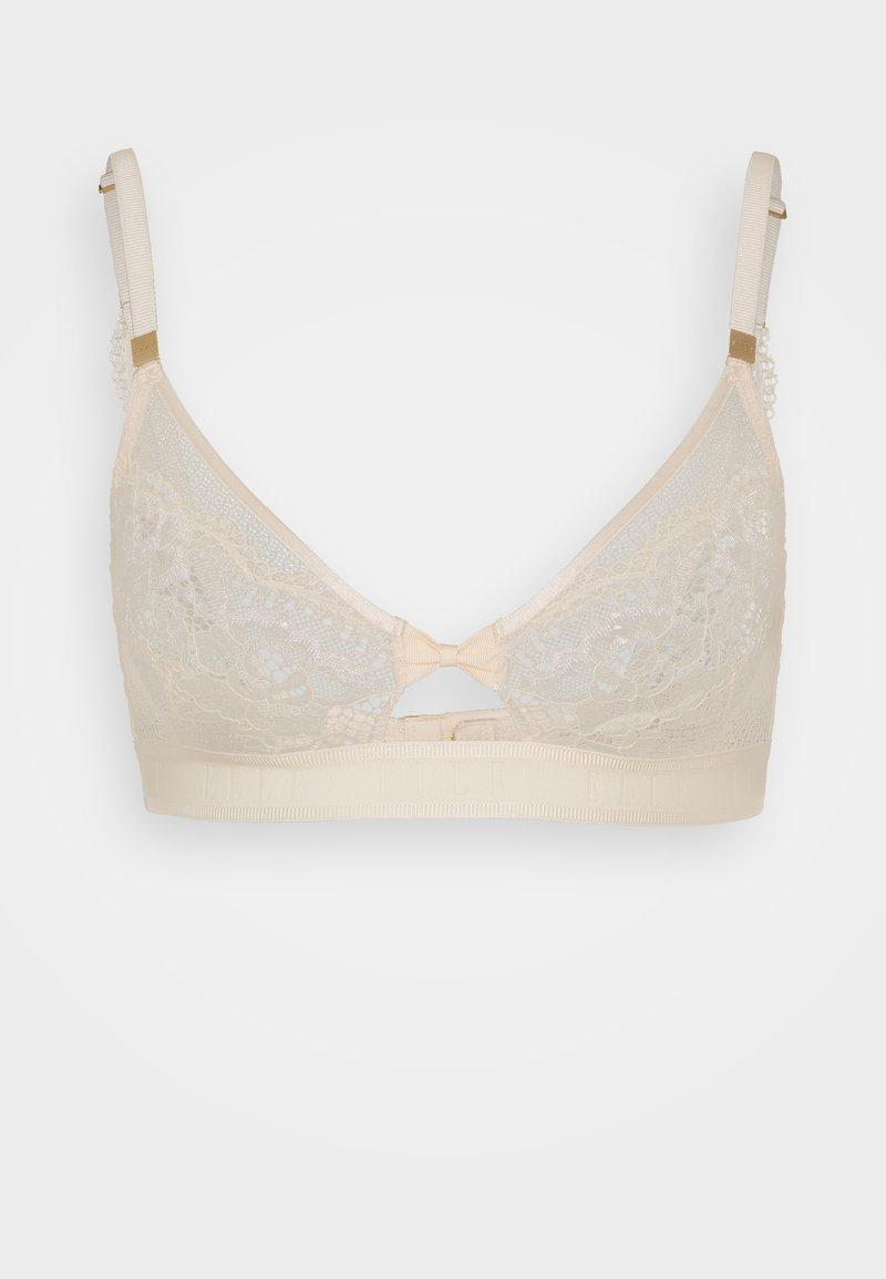 ELLE - Triangle bra - nude