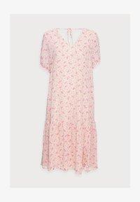 Selected Femme - SLFSINA MIDI DRESS - Day dress - sandshell - 4