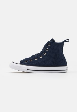 CHUCK TAYLOR ALL STAR UNISEX - Sneakersy wysokie - obsidian/white/black