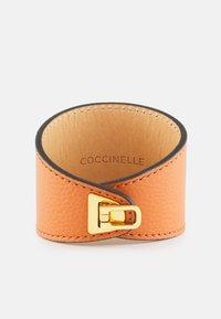 Coccinelle - BEAT SOFT BRACELET - Bracelet - chestnut - 0