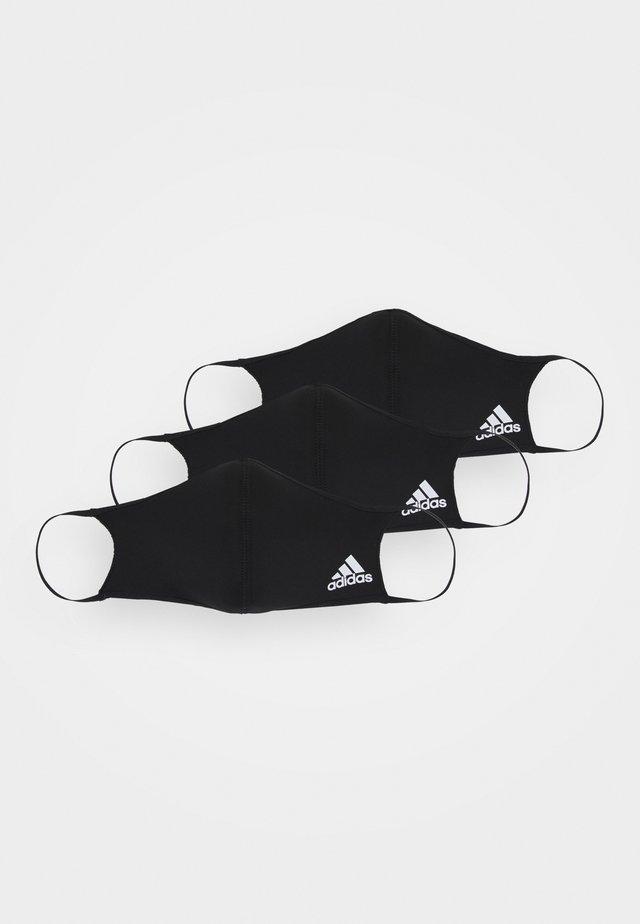 FACE UNISEX 3 PACK - Maschera in tessuto - black