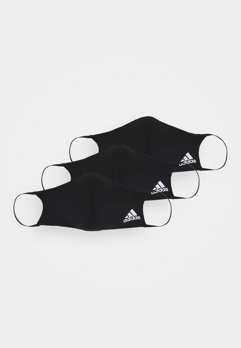 adidas Performance - FACE UNISEX 3 PACK - Stoffen mondkapje - black