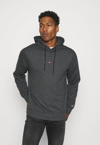 GEL STRAIGHT LOGO HOODIE - Sweatshirt - black