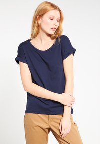 Vila - VIDREAMERS PURE  - Basic T-shirt - total eclipse - 0