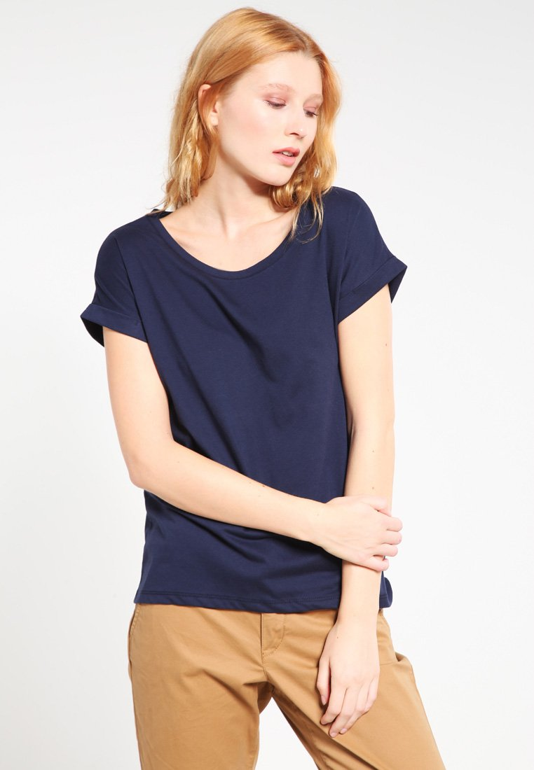 Vila - VIDREAMERS PURE  - Basic T-shirt - total eclipse