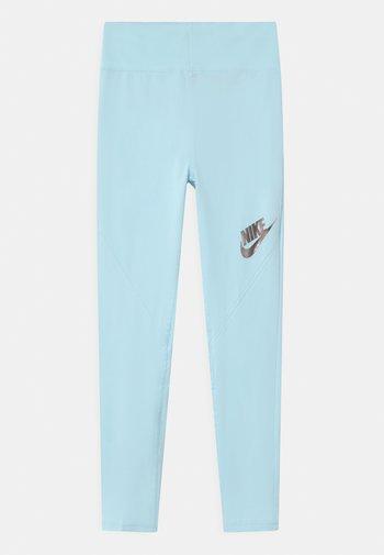 Leggings - Trousers - glacier blue/black