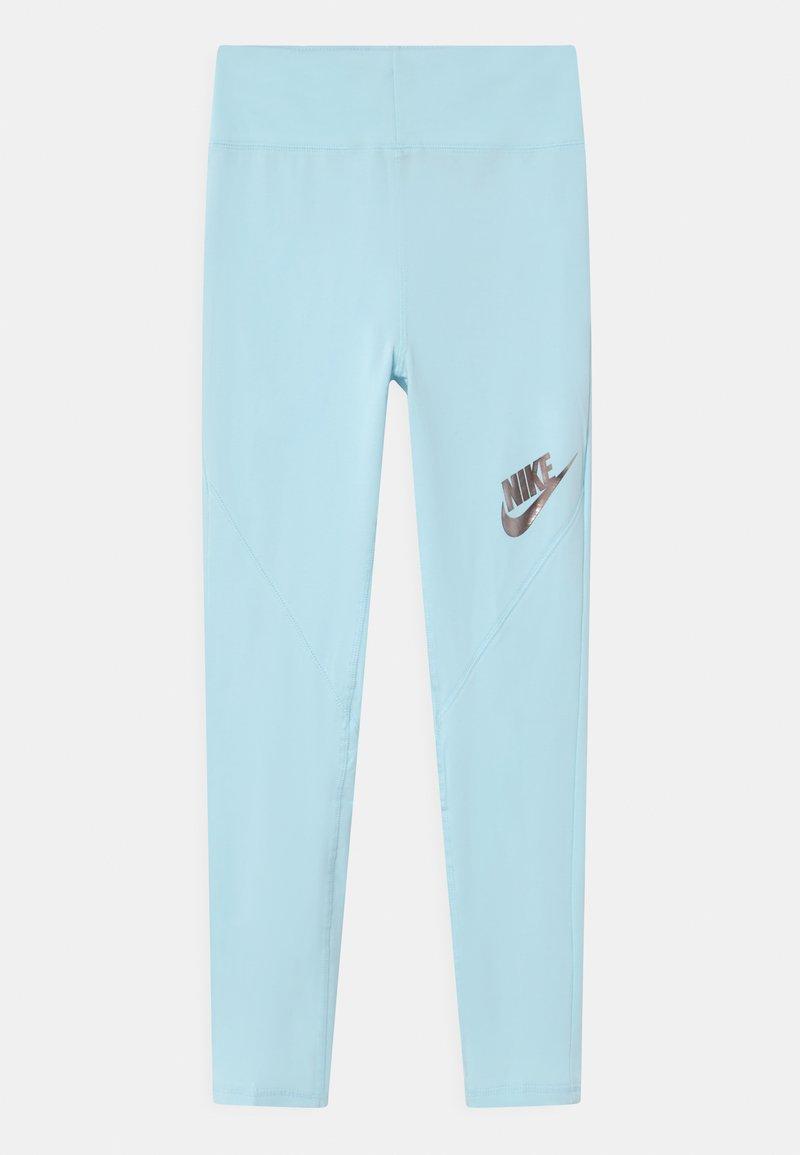 Nike Sportswear - Leggings - Trousers - glacier blue/black
