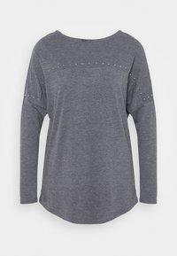 Wallis - STUDDED TUNIC - Long sleeved top - grey - 0