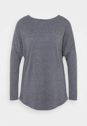 STUDDED TUNIC - Bluzka z długim rękawem - grey
