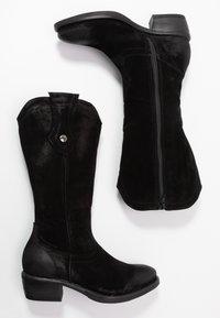 Tamaris - BOOTS - Cowboystøvler - black - 1
