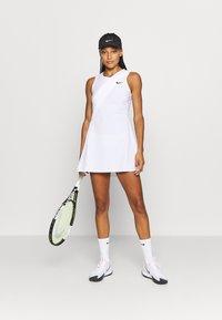 Nike Performance - MARIA DRESS - Sportovní šaty - white/black - 1