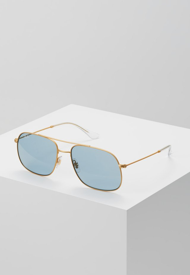 ANDREA - Sunglasses - rubber gold
