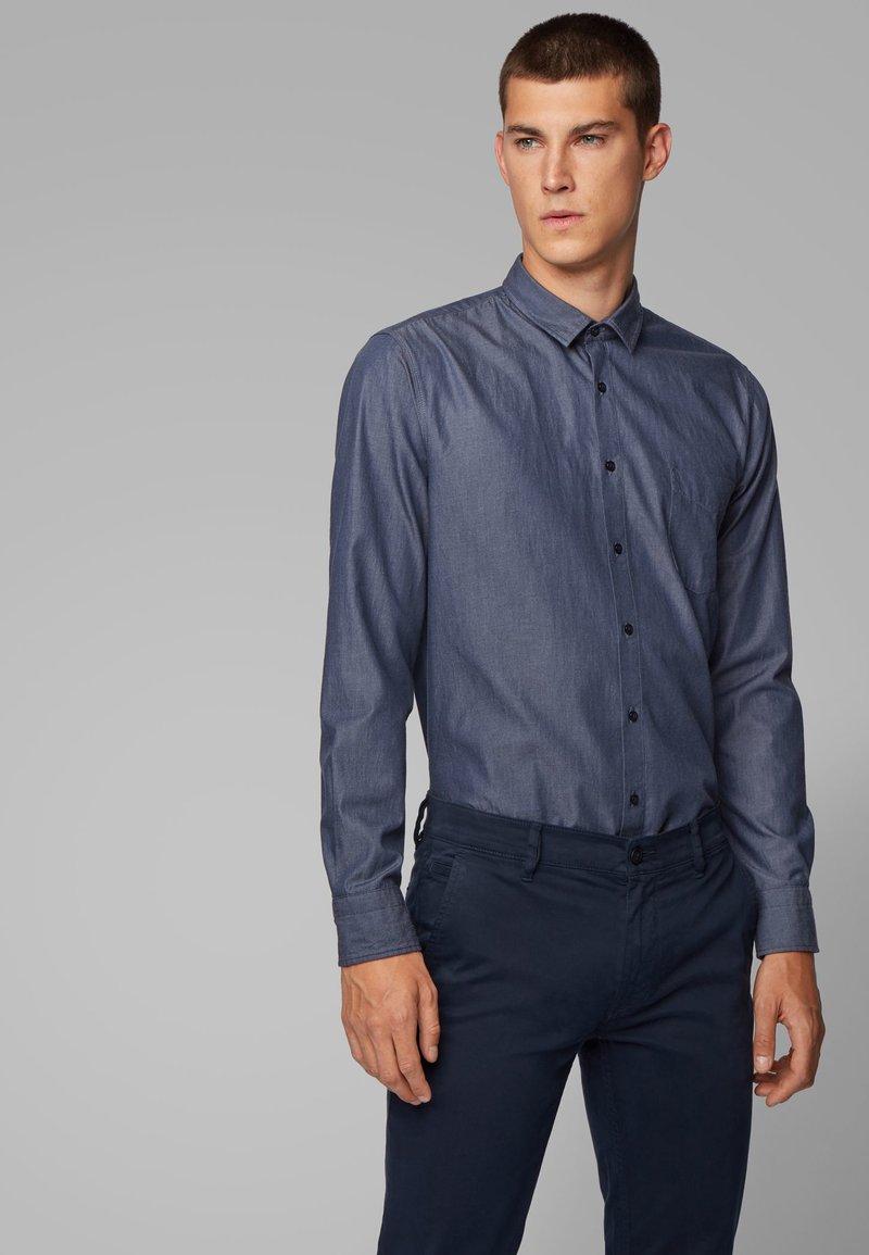 BOSS - MAGNETON - Overhemd - dark blue