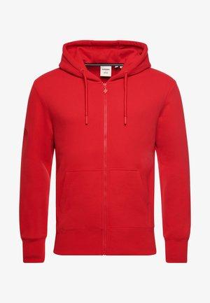 SPORTSTYLE ZIP - Sweater met rits - risk red