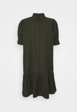 FREYIE ALISE SHIRTDRESS - Košilové šaty - green night