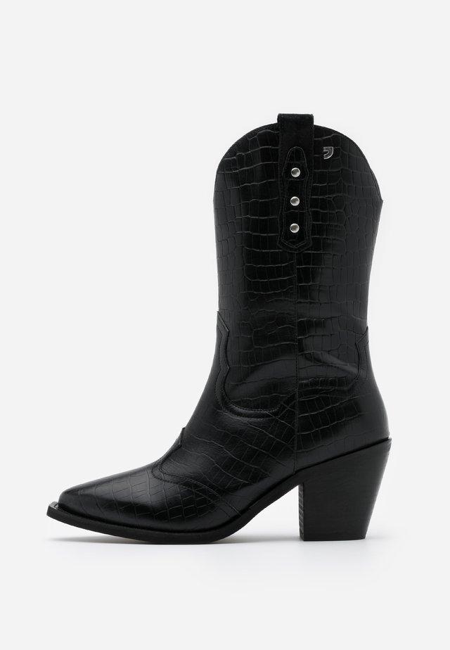 RERIK - Cowboy/Biker boots - black
