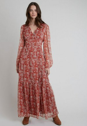 Robe longue - vieux rose