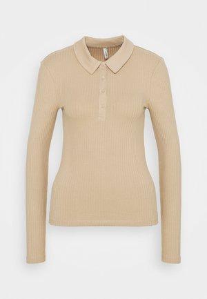 ONLUMA LIFE TOP TALL - Polo shirt - humus