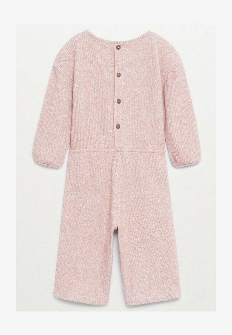 Mango - SCHIFFER - Jumpsuit - roze