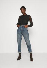 Derhy - APPEL BLOUSE - Button-down blouse - black - 1