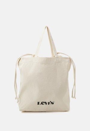 WOMEN'S DRAWSTRING TOTE - Bolso shopping - regular white