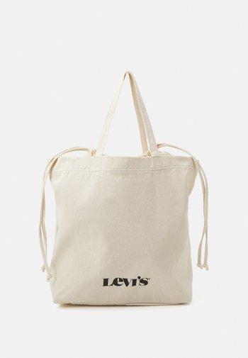WOMEN'S DRAWSTRING TOTE - Tote bag - regular white
