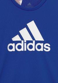 adidas Performance - Camiseta estampada - bold blue/white - 2