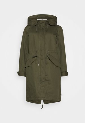 AUTHENTIC WINTER - Parka - olive night green