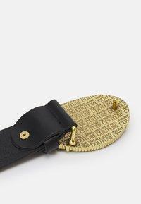 Versace Jeans Couture - CINTURA UNISEX - Belt - nero/oro - 1