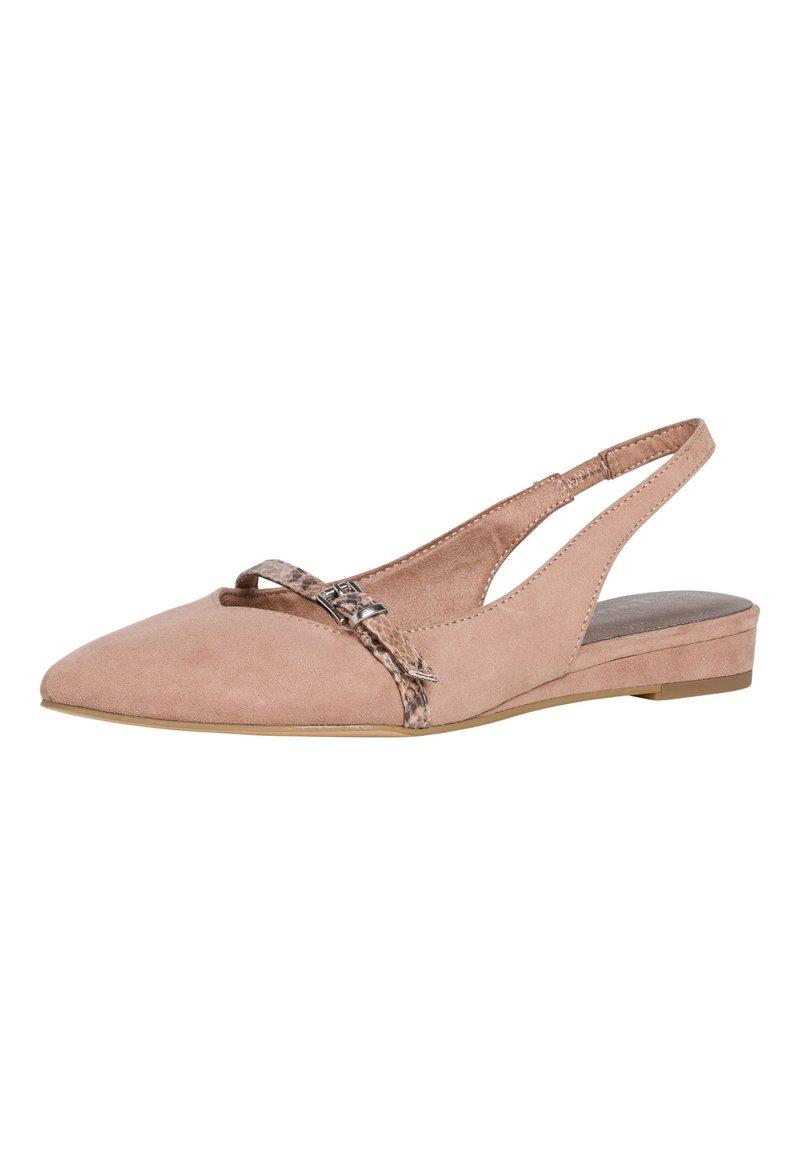 Tamaris - Slingback ballet pumps - old rose