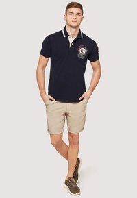 Napapijri - GANDY - Polo shirt - dark blue - 1