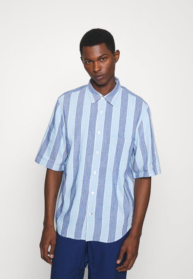 Shirt - deep ultramarine/multi