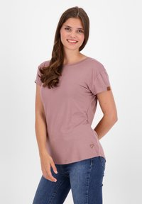 alife & kickin - Basic T-shirt - plum - 0
