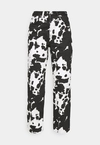 Topshop - COW PRINT RUNWAY - Relaxed fit jeans - black/white - 6
