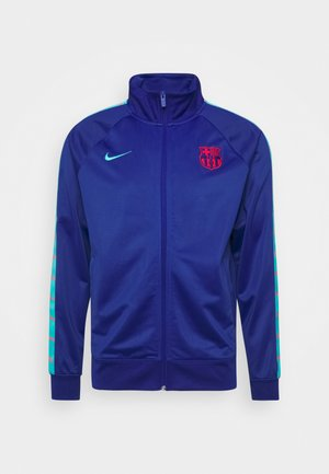 FC BARCELONA TAPE - Training jacket - deep royal blue/oracle aqua