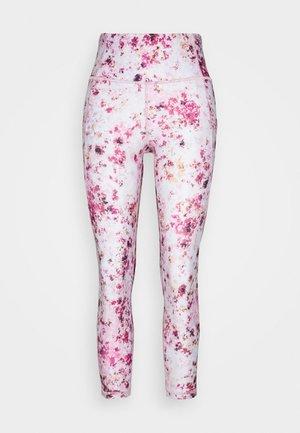 SIDE POCKET ANKLE PANT - Punčochy - bold pink