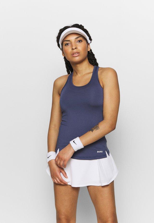 RACERBACK TANK - T-shirt de sport - crown blue