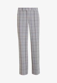 Karen by Simonsen - SYDNEY WIDE CHECK PANTS - Trousers - grey - 3