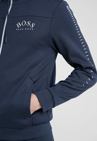 BOSS - SAGGY WIN - Zip-up hoodie - blue/silver - 4