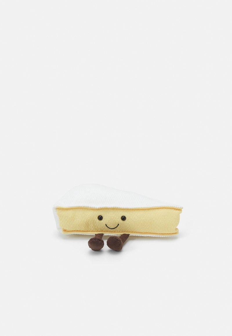 Jellycat - AMUSEABLE BRIE UNISEX - Pehmolelu - white