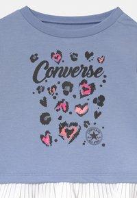 Converse - PLEATED PEPLUM LONG SLEEVE SET - Sweatshirt - storm pink - 3