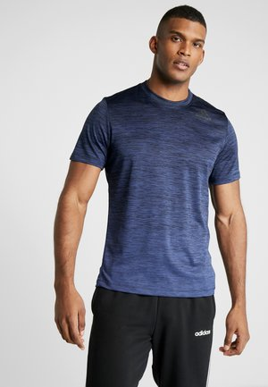 AEROREADY TRAINING SPORTS SHORT SLEEVE TEE - Tekninen urheilupaita - dark blue