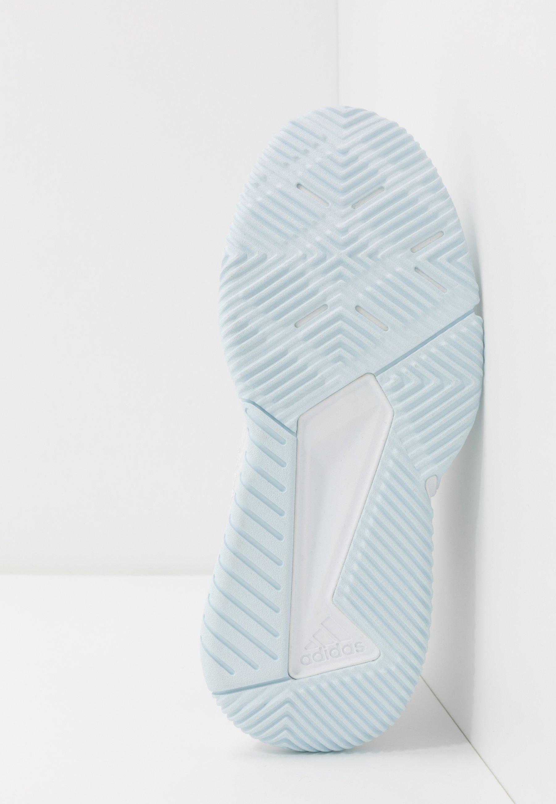 2020 Cool Women's Shoes adidas Performance COURT TEAM BOUNCE Handball shoes sky tint/footwear white/signal orange HyaBBlP9q