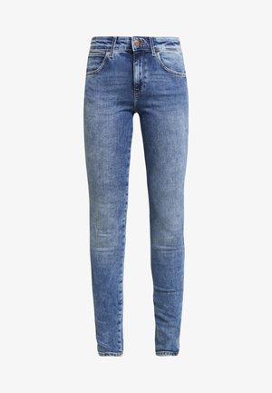 Skinny džíny - water blue