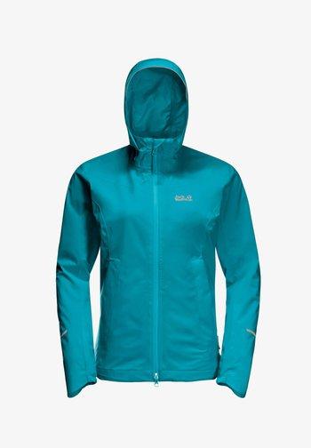 Outdoor jacket - dark cyan