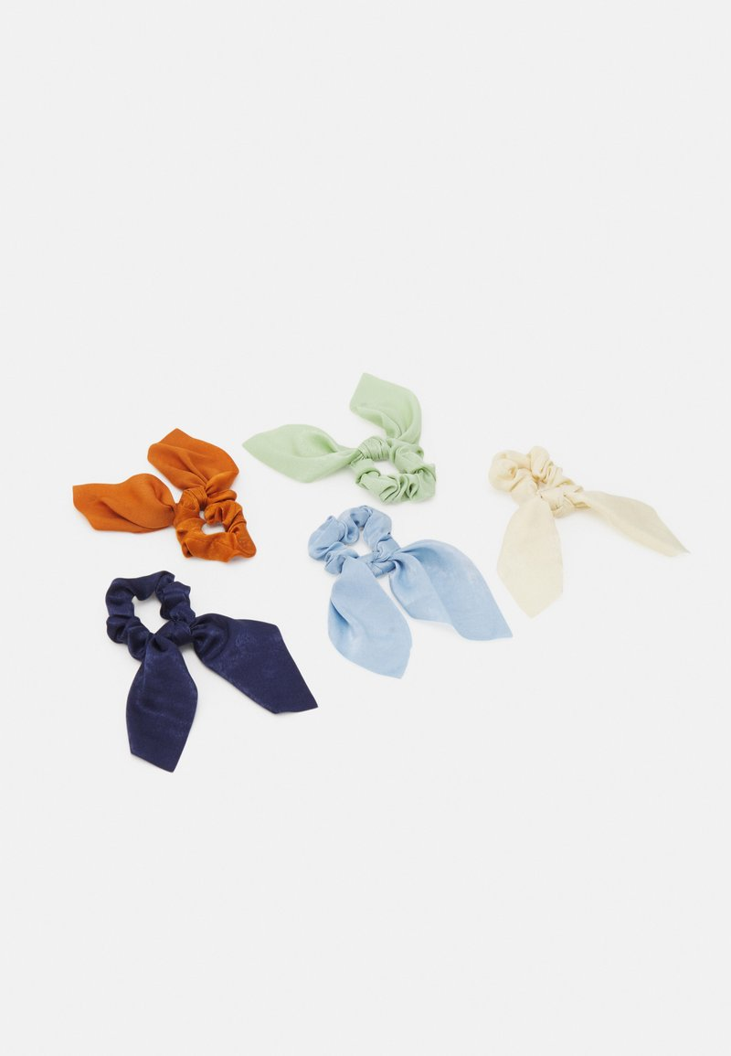 Pieces - PCHASEL BOW SCRUNCHIE5 PACK - Hair Styling Accessory - navy blazer/multi