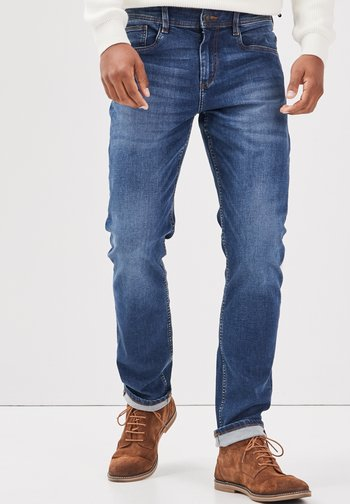 Straight leg jeans - denim stone