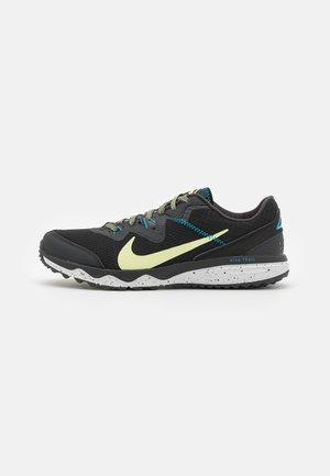 JUNIPER TRAIL - Chaussures de running - off noir/limelight/black/laser blue/pure platinum